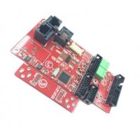 OEM / ODM 94v0 RoHS PCB Board Assembly Red Mask 1.6mm Thickness