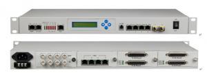 China Modular Multi Service 16E1+4GE Voice Fiber Multiplexer , Desktop Access Multiplexer on sale