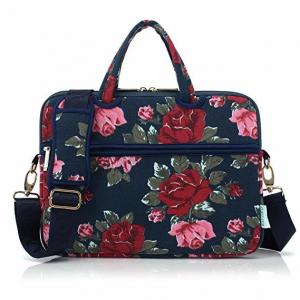 China Ultra Portable Canvas Laptop Bag / Over The Shoulder Laptop Bag For Lady on sale