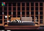 Шкаф наборов спальни мебели гостиницы твердой древесины современный большой