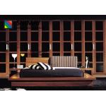 Garde-robe d'hôtel en bois solide grande de chambres à coucher contemporaines de meubles