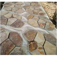 Paving stone for garden courtyard in irregularity slate stone tile