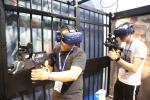 China Matrix Space 9d VR Virtual Reality Shooting Simulator Multiplayers Roaming Omni Game Platform wholesale
