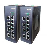 China 8E + 2G fiber Network Switch , 8 100M TX ports + 2 100 / 1000M TX ports industrial Unmanaged switch on sale