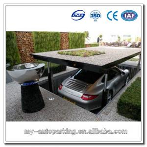 Ce Certified residential pit garage parking car lift for