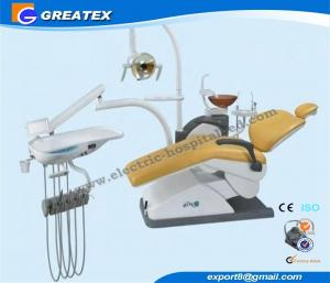 China Comfortable Dental Chair Unit with Seamless PU seat , dental clinic equipment on sale
