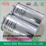 oval ac motor capacitor cbb65 20uf 25uf 30uf 35uf 40uf to 120uf