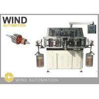 Dual Flyer Armature Winding Machine /  Lap Winding Machine For 4poles Rotor