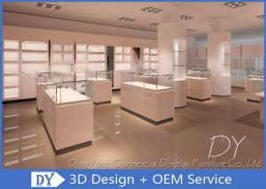 China OEM Store Jewelry Display Cases For Retail Shop / Diamond Display Showcase on sale