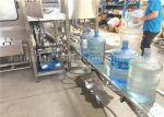 Fully - Automatic 300BPH Bottle Washing Filling And Capping Machine For 5 Gallon