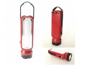 China Red / White LED Hand Torch Rechargeable Emergency Torch Energy Saving on sale