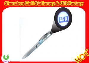 China Stylo promotionnel de projecteur LED d'OEM d'illumination en aluminium de lumière de la conception avec le stylo de boule on sale