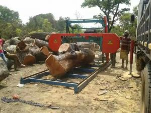 Bandsaw Mill For Sale >> Horizontal Wood Band Saw Portable Sawmill Diesel Electric Log