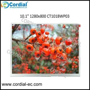 China 10.1 inch 1280x800 TFT LCD MODULE CT101BWP03 on sale