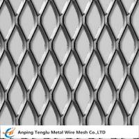 China Expanded Metal Sheet|With Micron Opening 1.5x2mm Flattened and Raised Surface on sale