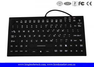 China IP68 Backlit Super Thin Washable Silicone Keyboard Built-in Mouse on sale