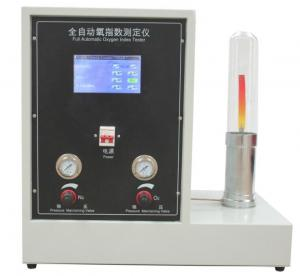 China Intelligent Automatic Oxygen Index Tester ASTM D 2863 ISO 4589-2 ISO 4589-3 NES 714 NES 715 on sale