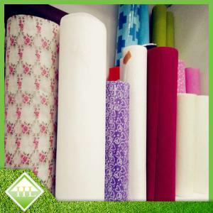 China Pre - Cut  Non Woven Fabric Roll For Disposable Table Cloth Customized Length on sale