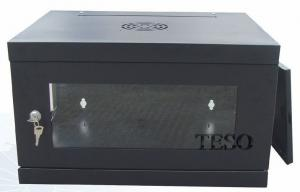 China 12U Networking Server Rack Cabinets For Telecommunication , 60kgs Capacity on sale
