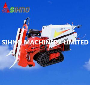 China Farm Machinery Half Feed Mini Rice Wheat Combine Harvester for Sales on sale