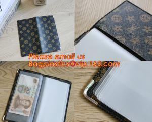 China A2/A3/A4/A5 plastisc display book with insert cover 20 pocket on sale