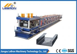 China Automatic CNC Control High Speed C Purlin Roll Forming Machine at factory direct sell price 2018 New Type on sale
