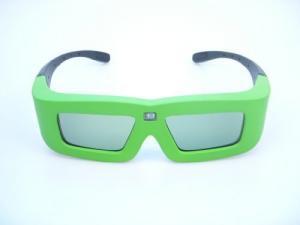 China OEM ABS + PC frame 3.7V li-con battery DLP link projector 3D active shutter glasses for men on sale