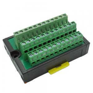 Awesome Plc Wiring Distribution Board Terminal Blocks Plate 24 Ways Wiring 101 Israstreekradiomeanderfmnl