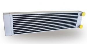 China Air Compressor Fully welded Heat Exchanger / Oil Cooler Compressor on sale
