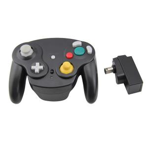 Quality Black Nintendo Wireless Gamecube Controller Ergonomic Grips For Comfortable for sale