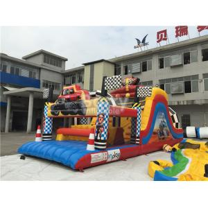 China Water-Proof Inflatable Obstacle Course / Inflatable Outdoor Play Equipment on sale