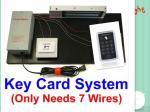 600 libras del equipo de puerta de la cerradura del control de acceso de la identificación de sistema de tarjeta magnético eléctrico