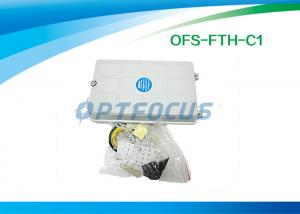 China Desktop Cable Termination Box 6 Core Optical Fiber Splice Tray 12 Pigtail Ø16mm on sale