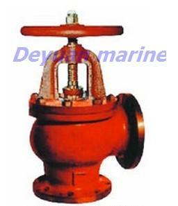 China JIS Marine Cast Iron Flanged Angle Stop Valves on sale
