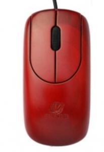 China Wired Bamboo Mouse (MU1055-Ro) on sale