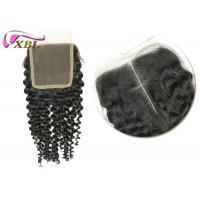 Size 4x4 16 Inch Cambodian Human Hair Lace Closure , Body Wave Virgin Human Hair