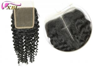 China Size 4x4 16 Inch Cambodian Human Hair Lace Closure , Body Wave Virgin Human Hair on sale