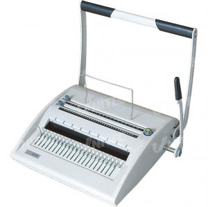 China Comb and Wire Binding Machine CB-ST800 with CE Certificate on sale