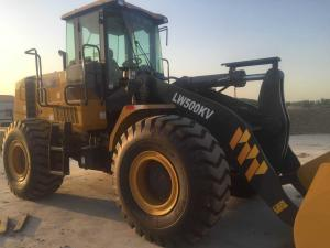 China LW500KV Heavy Construction Machinery XCMG Wheel Loader High Mobility And Flexibility on sale