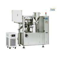 China Automated Plastic Tube Filling And Sealing Machine No Stirrer PLC Controlled on sale