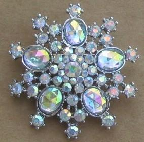China vintage rhinestone brooches on sale