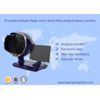 3d Deeply Analyzer Home Use Beauty Device Black Color 1 Year Warranty
