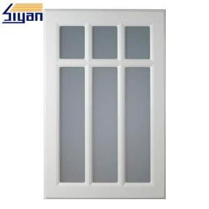 China MDF Frame Kitchen Cabinet Doors With Glass Fronts , Replacement Cabinet Doors on sale