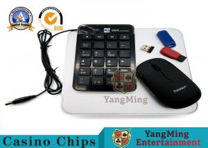 China Wireless Online Casino System / Casino Betting Systems Keyboard And Mouse on sale