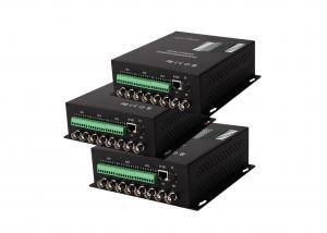 China 1 type de carte optique inverse de l'émetteur-récepteur 8V1D de fibre des données rs485 a installé l'émetteur-récepteur d'Ethernet de gigabit on sale