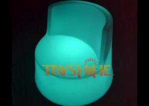 China Modern Illuminated LED Bar Chair Lighting Furniture , Remote Control LED Bar Stool Chair on sale
