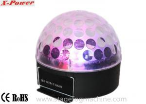 China RGB / RGBWA  Disco LED  Lights Sound Activated For Party , Led Crystal Magic Ball Light VS-26+ on sale