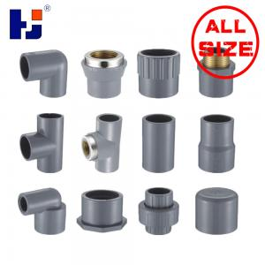 China CPVC SCH80 water pipe fittings on sale