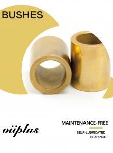 China Guide Pin Bronze Sleeve Bushings Flange  Oil Sintered Bearing: Oil Bonrze Sintered SINT 50 SAE841 Cu660 Cu663 Cu9010 on sale