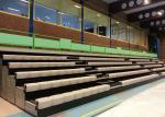 Powered Telescopic Arena Stage Seating With Anatomically Contoured Seat Surface